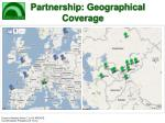 partnership geographical coverage