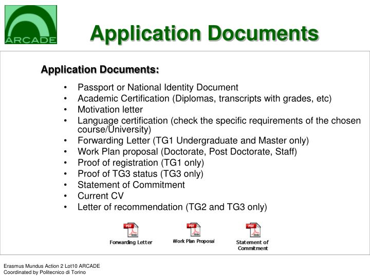 Application Documents