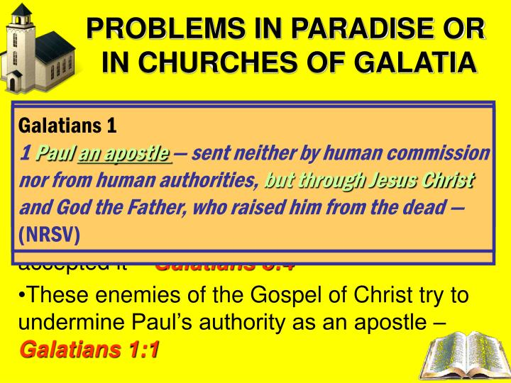 PROBLEMS IN PARADISE OR