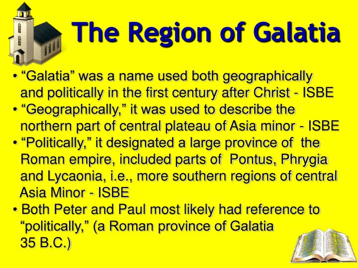 The Region of Galatia