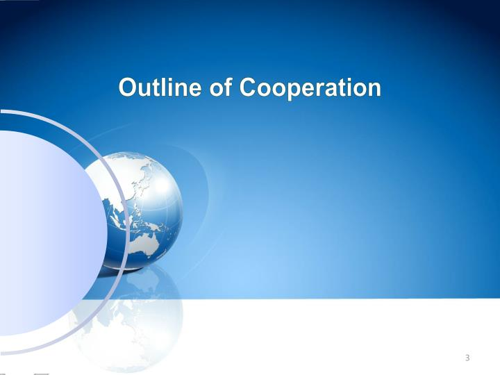 Outline of Cooperation