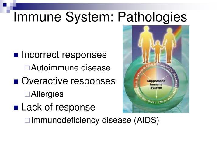 Immune System: Pathologies