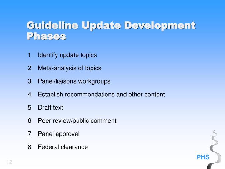 1.Identify update topics
