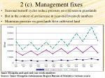 2 c management fixes