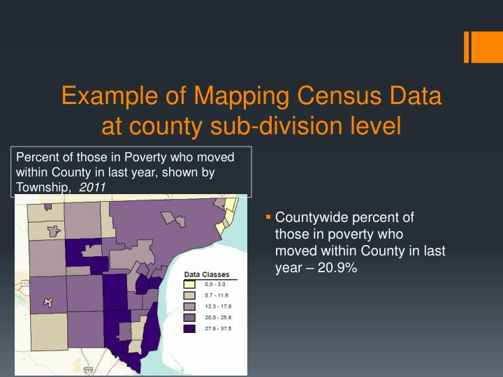 Example of Mapping Census Data at