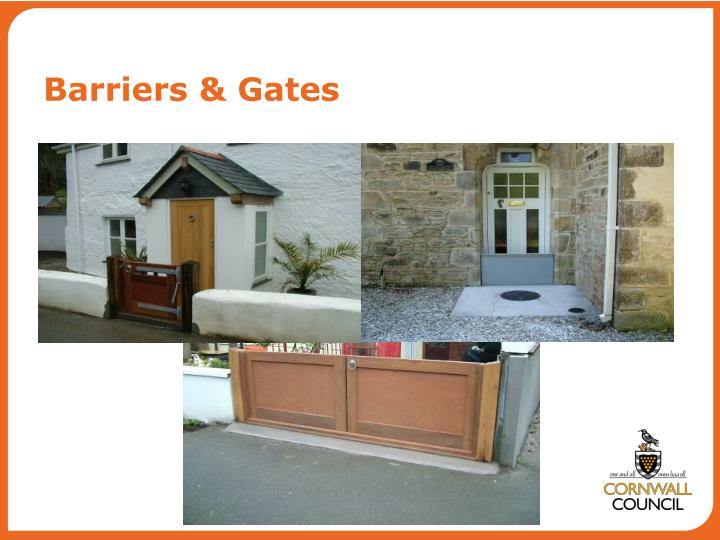 Barriers & Gates