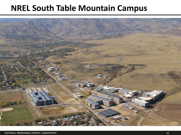 NREL South Table Mountain Campus