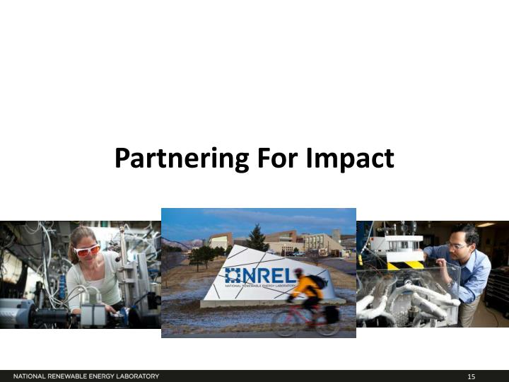 Partnering For Impact