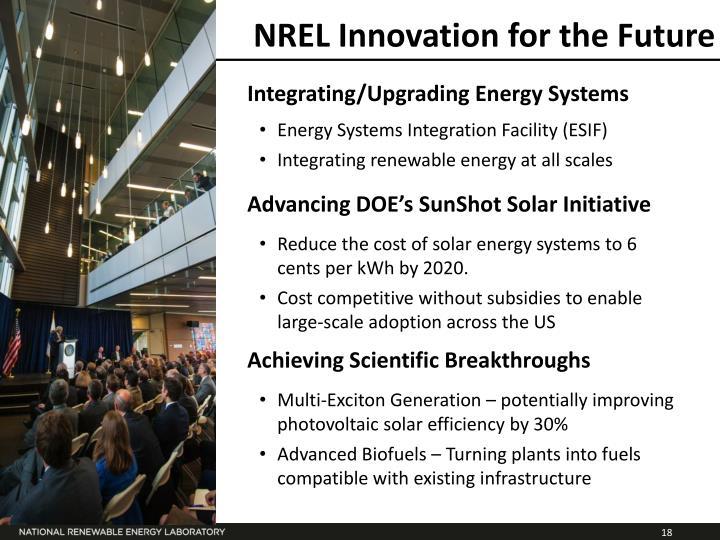 NREL Innovation