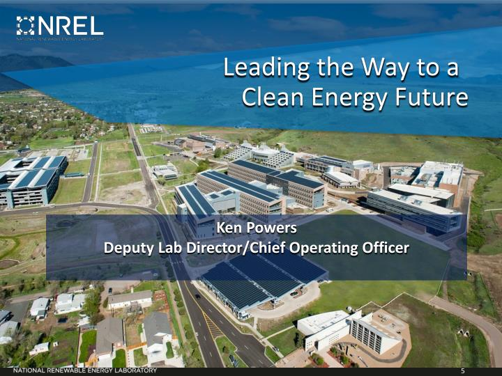 Leading the Way to a Clean Energy Future