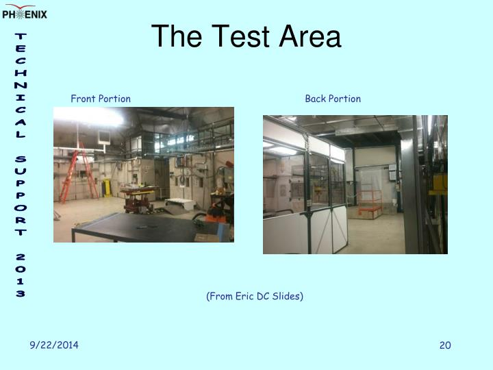 The Test Area