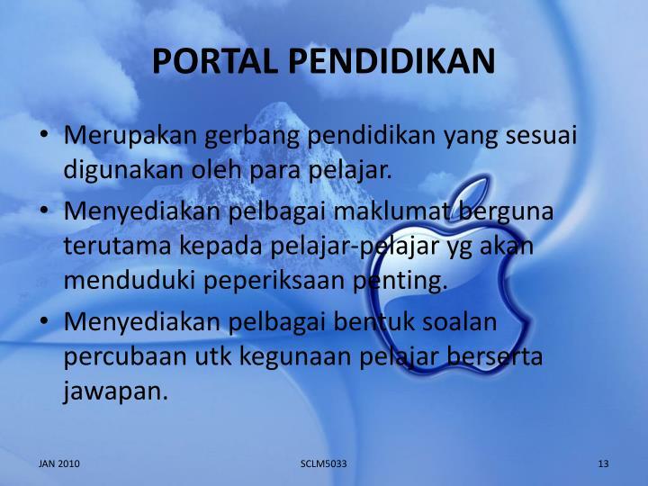 PORTAL PENDIDIKAN