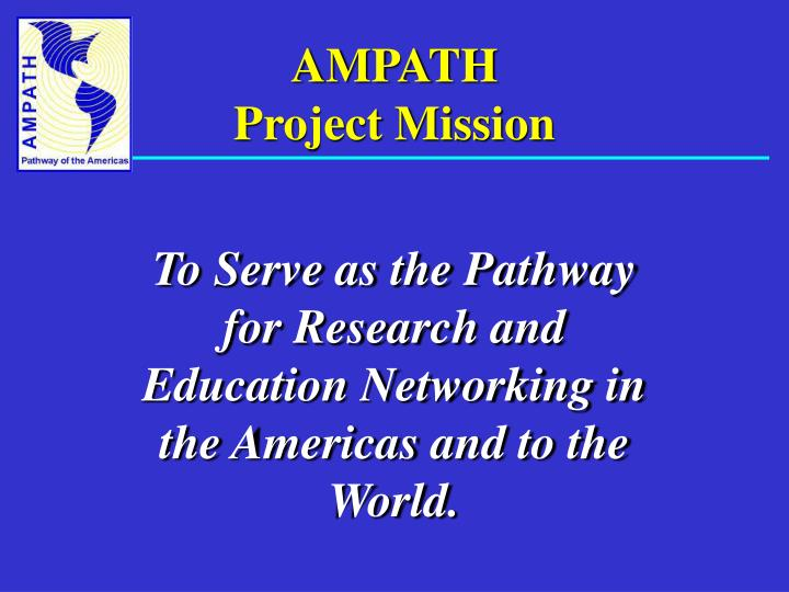 Ampath project mission