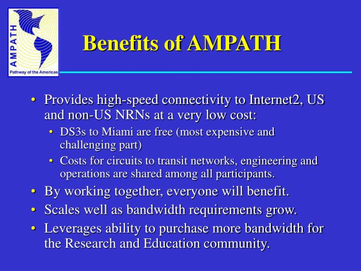 Benefits of AMPATH