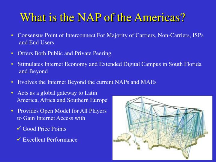 What is the NAP of the Americas?