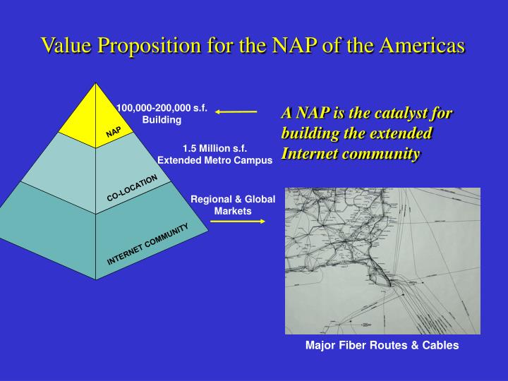Value Proposition for the NAP of the Americas