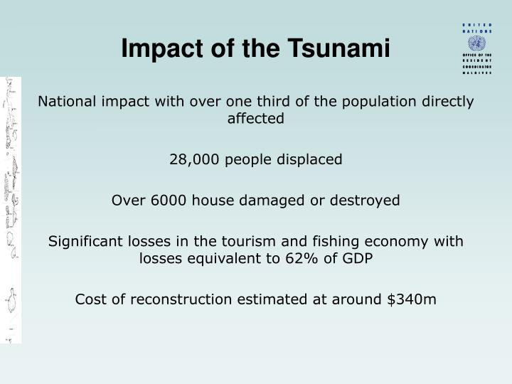 Impact of the Tsunami