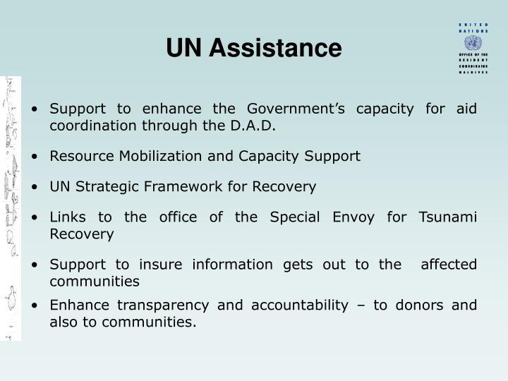 UN Assistance