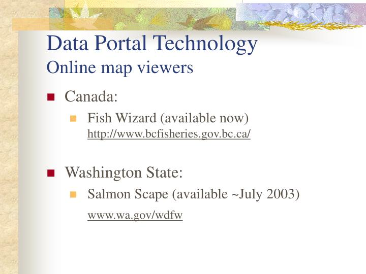 Data Portal Technology