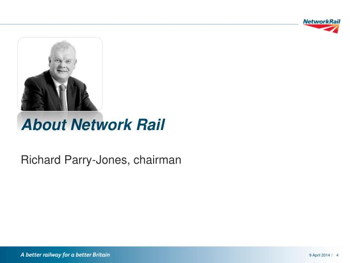 About Network Rail