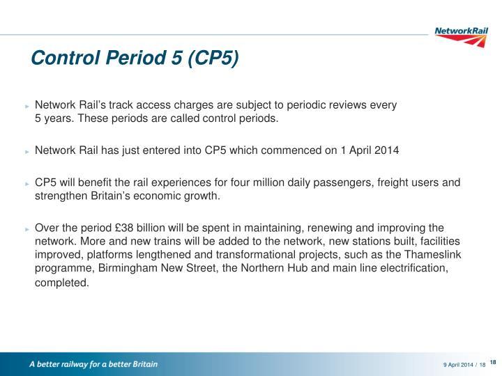 Control Period 5 (CP5)