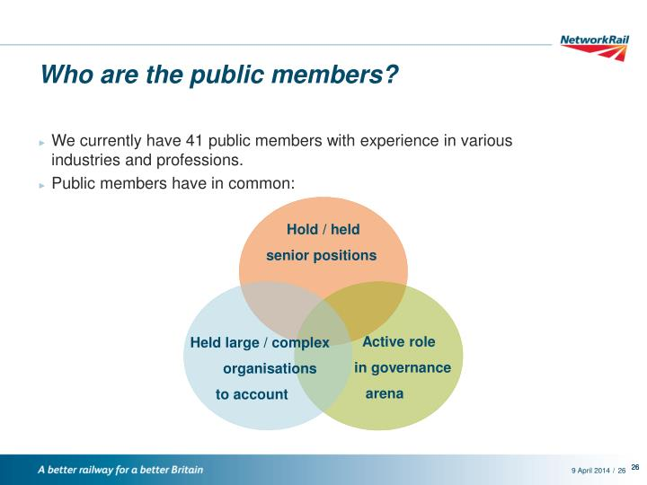 Who are the public members?