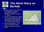 the short story on norfolk