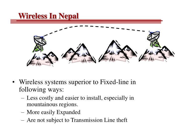 Wireless In Nepal