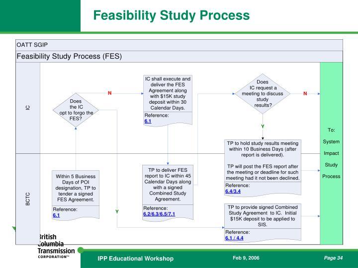 Feasibility Study Process