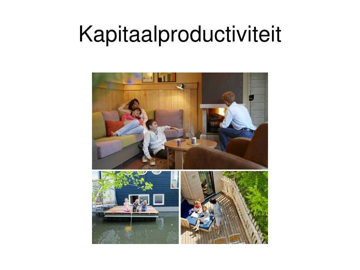 Kapitaalproductiviteit