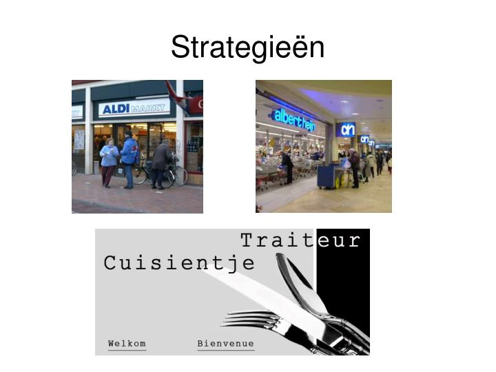 Strategieën