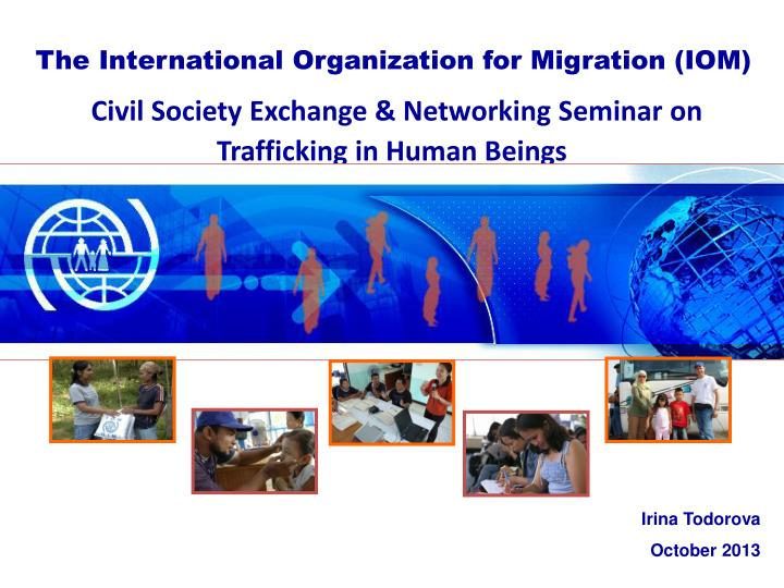 Civil society exchange networking seminar on trafficking in human b eings