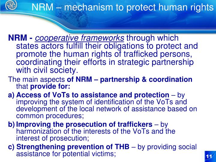 NRM – mechanism to protect human rights