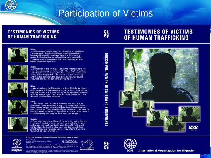Participation of Victims