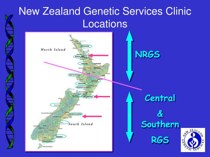 New Zealand Genetic Services Clinic Locations