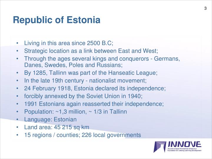 Republic of Estonia
