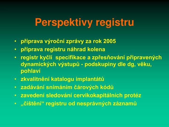 Perspektivy registru