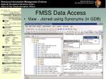 fmss data access13