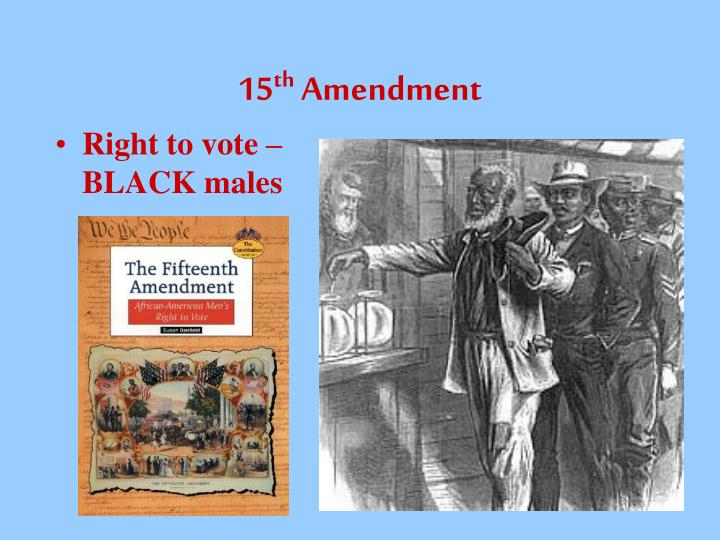 PPT - 27 AMENDMENTS TO THE CONSTITUTION PowerPoint ...