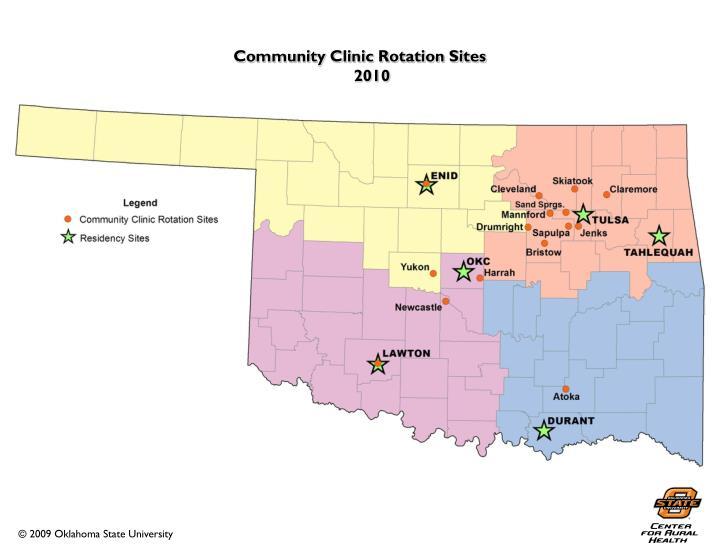 Community Clinic Rotation Sites