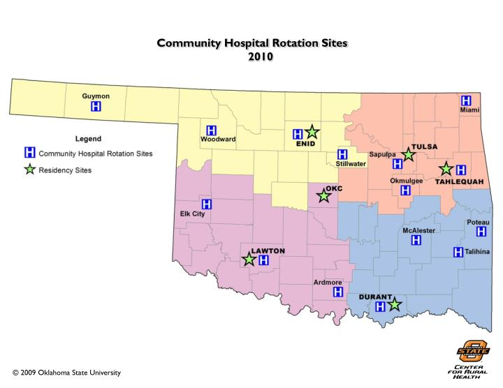 Community Hospital Rotation Sites