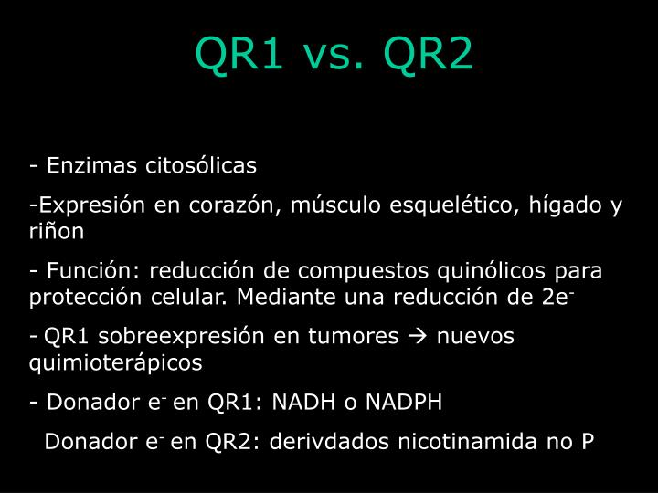 QR1 vs. QR2