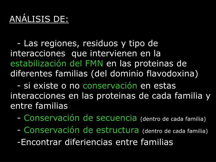 ANÁLISIS DE: