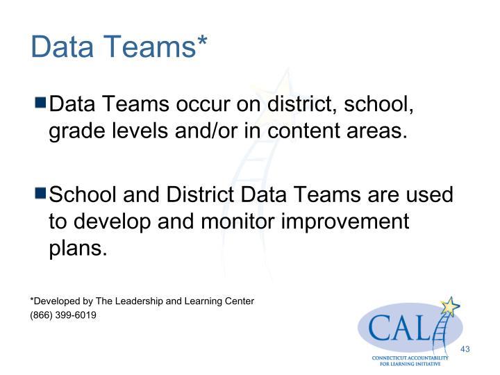 Data Teams*