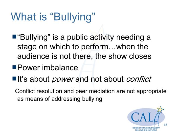 """What is """"Bullying"""""""