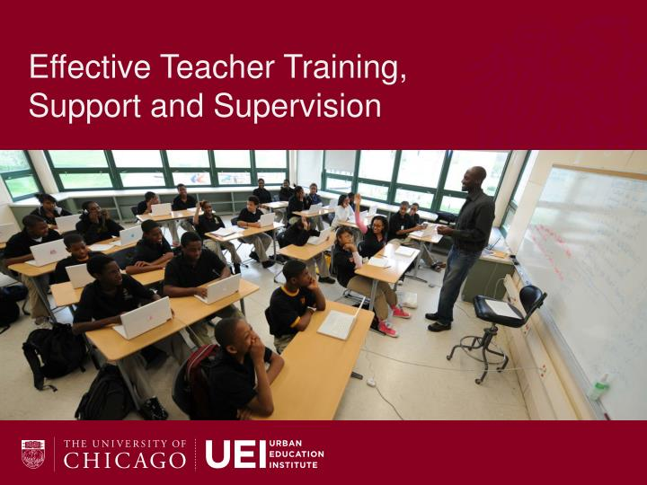 Effective Teacher Training,
