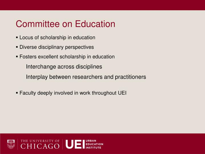 Committee on Education