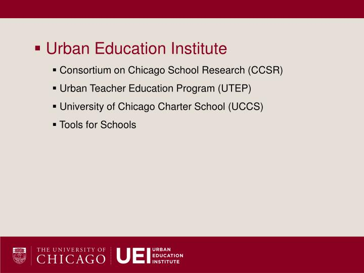 Urban Education Institute