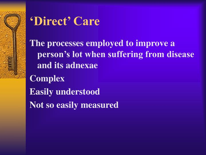 'Direct' Care