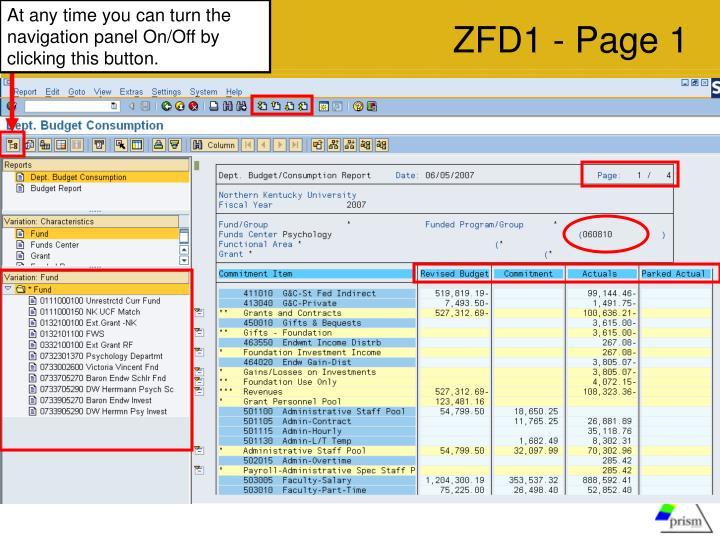 ZFD1 - Page 1